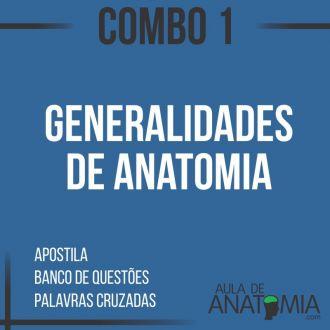 Combo 1 - Generalidades de Anatomia Humana