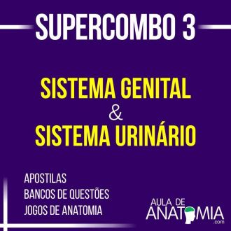 Supercombo 3 - Sistema Genital & Sistema Urinário
