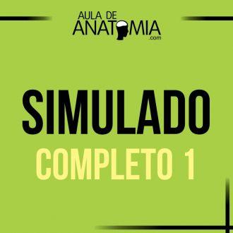 Simulado Completo 1 - Questões Objetivas - Simulado Completo sobre Anatomia